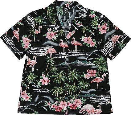 212da8c3 Amazon.com: RJC Womens XS to Plus 3X Pink Flamingo Hibiscus Camp Shirt:  Clothing