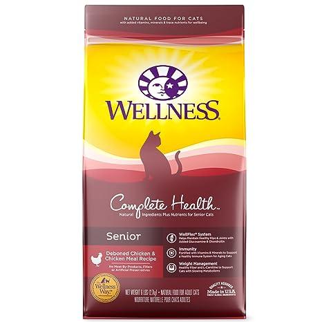 Amazon Wellness Complete Health Natural Dry Cat Food Senior
