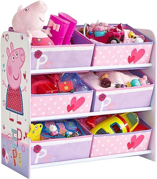 Peppa Pig 6 Caja de almacenaje: Amazon.es: Hogar