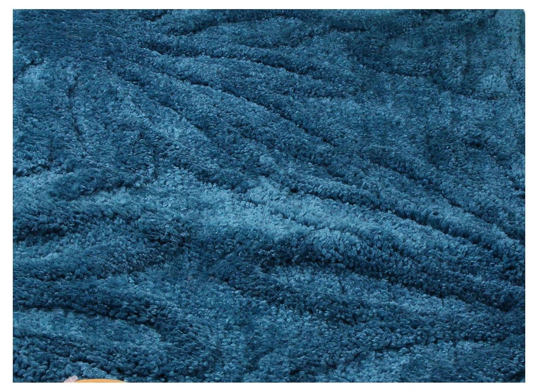Gözze Badteppich, Mikrofaser Hochflorteppich, Limone, 70 x 120 cm, Blume, Limone, Hochflorteppich, 1031-80-070120 1d97db