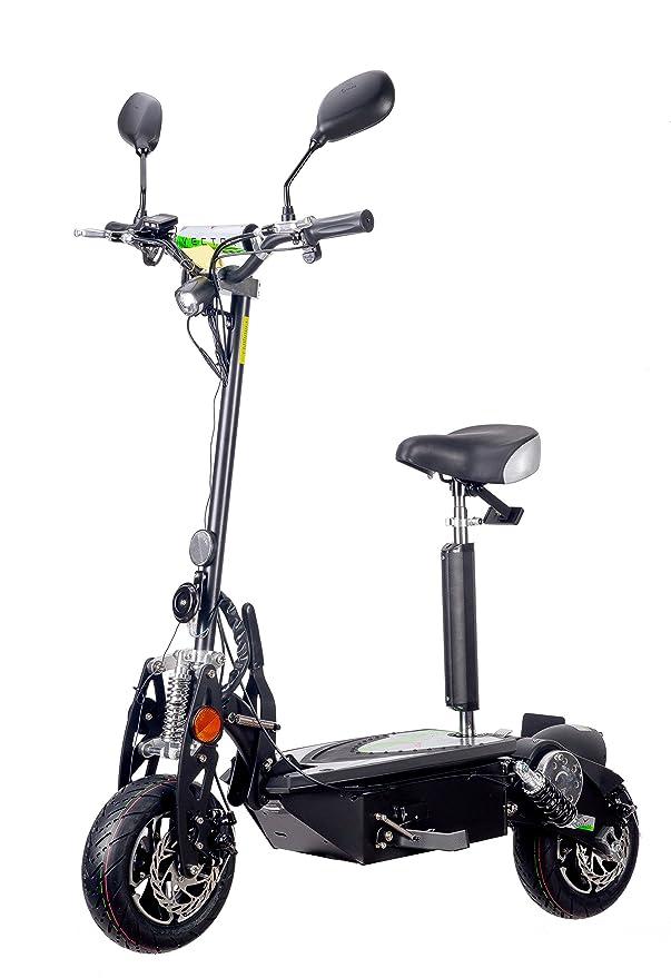 VECTORSCOOTERS 1000W Scooter eléctrico, 48V, batería SLA ...