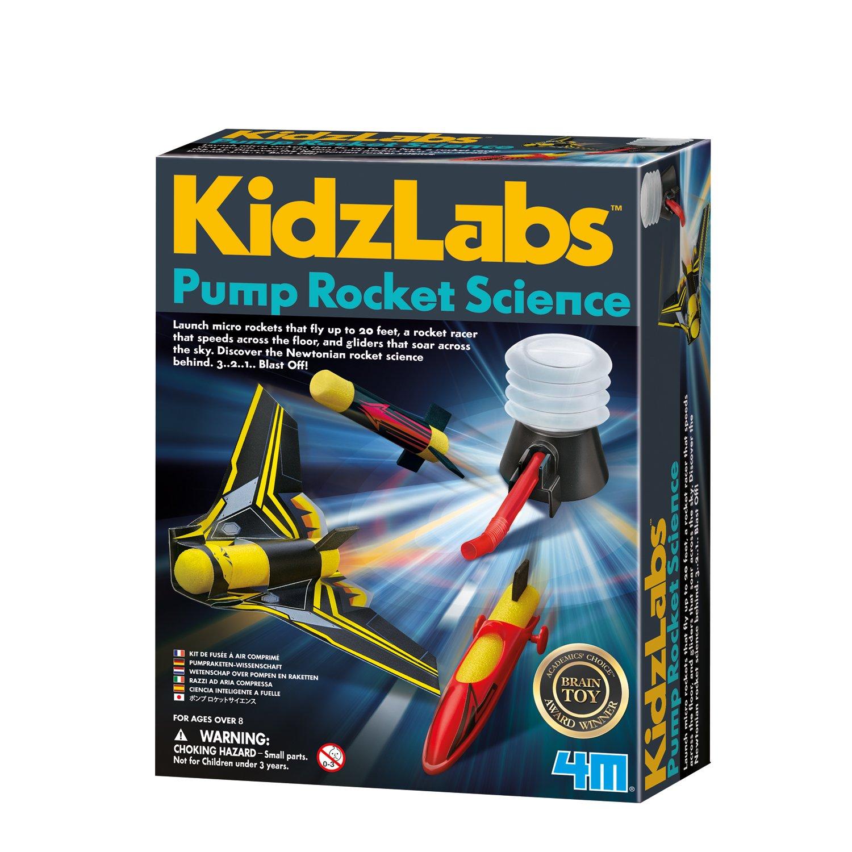 4M Pump Rocket Science Toysmith 5577