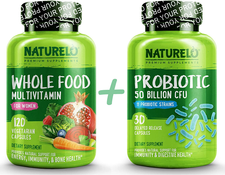 Bundle: Whole Food Multivitamin for Women + Probiotic