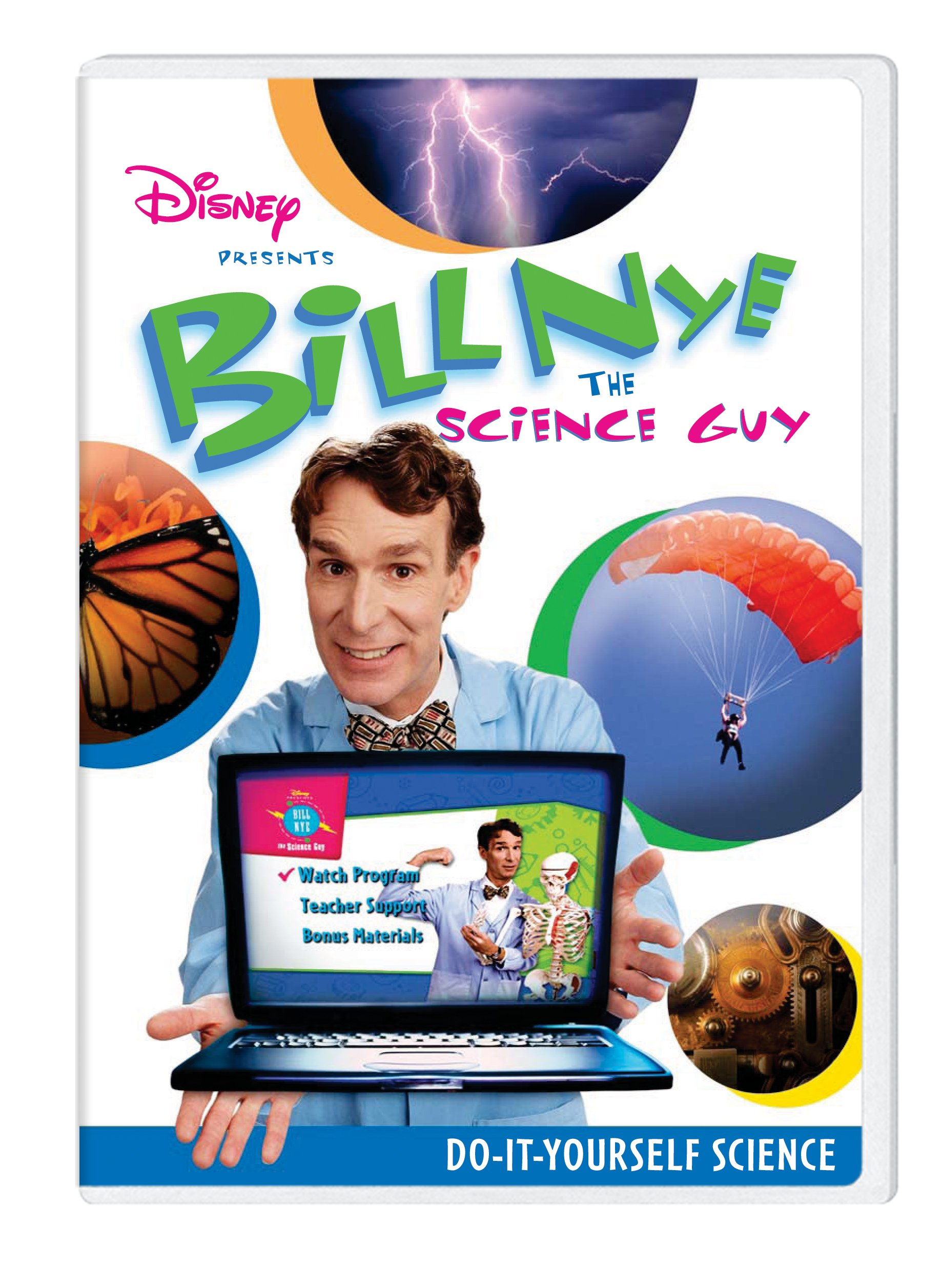 Bill Nye: Do-It-Yourself Science Classroom Edition [Interactive DVD]