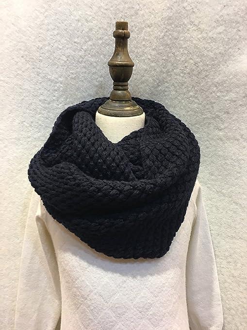 HOMEE Sciarpa per scaldacollo per studente inverno sciarpa lavorata a  maglia 641219f50781