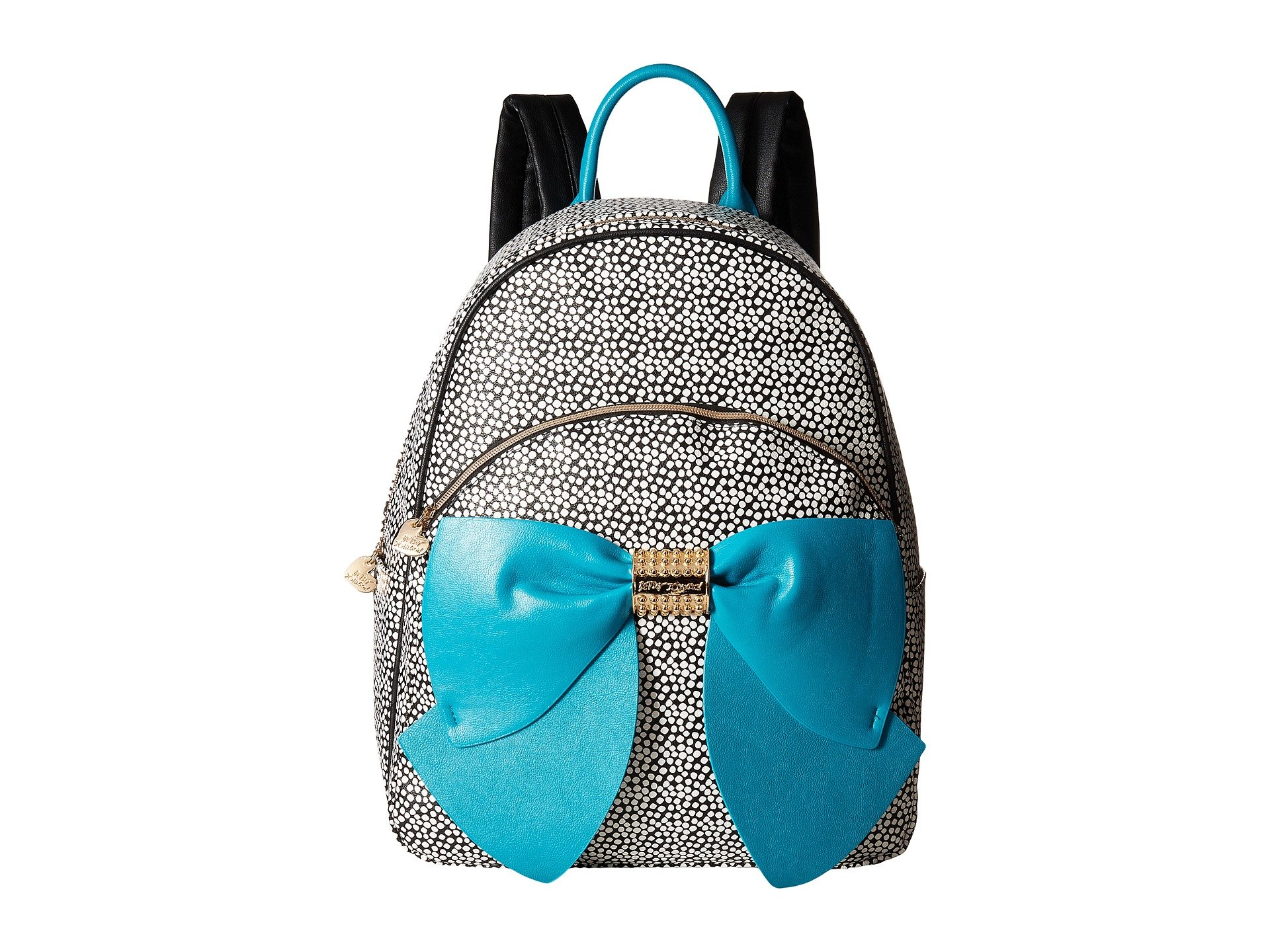 Betsey Johnson Women's Back to School Bow Backpack Spot Backpack by Betsey Johnson
