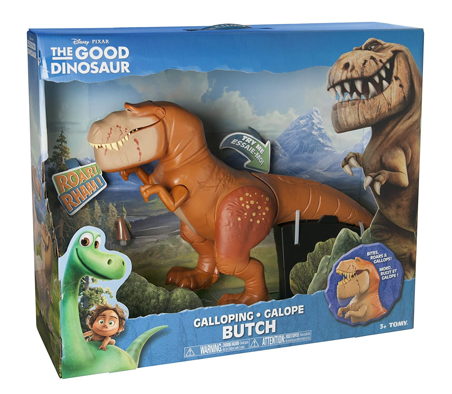 Image result for THE GOOD DINOSAUR GALLOPING BUTCH