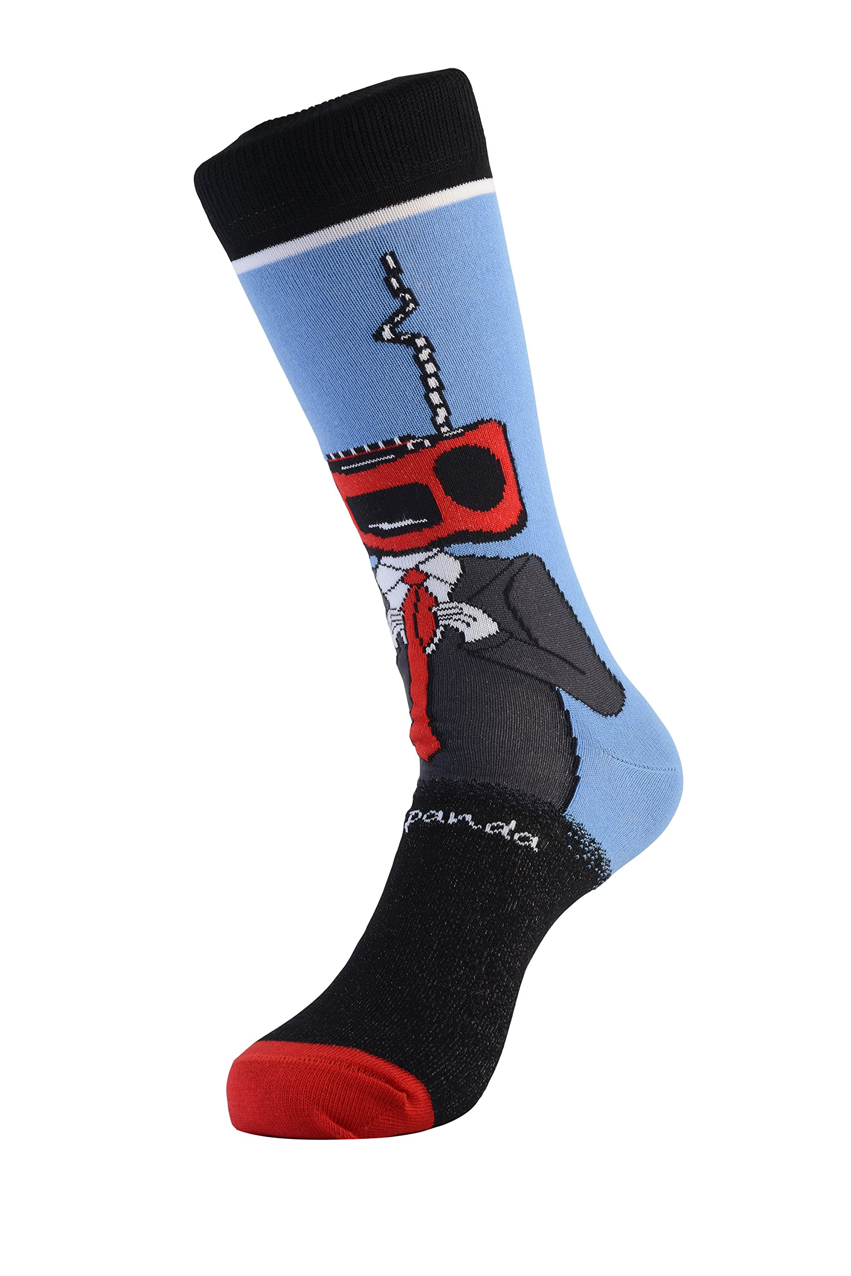 Radio Head Socks from the Sock Panda