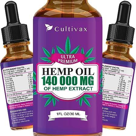 Cultivax Vegan Hemp Oil