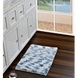 Luxurious Feel Bathroom Mat/Rug   Chenille & Cotton Bath Mat, Extra Absorbent & Super Soft Plush Rug for Living Room, Bedroom