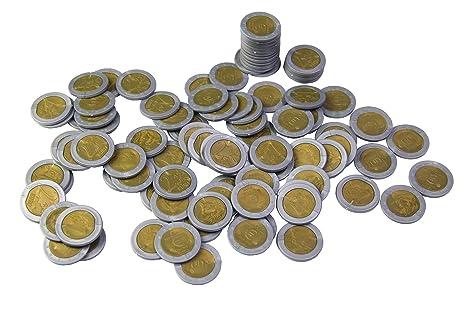 WISSNER® aktiv lernen - Monedas de 2 EURO (100 piezas) - RE-Plastic®: Amazon.es: Industria, empresas y ciencia