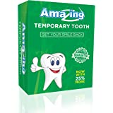 Amazing Temporary Tooth # 1 Replacement Tooth Repair Kit Now with 25% More Tooth Material