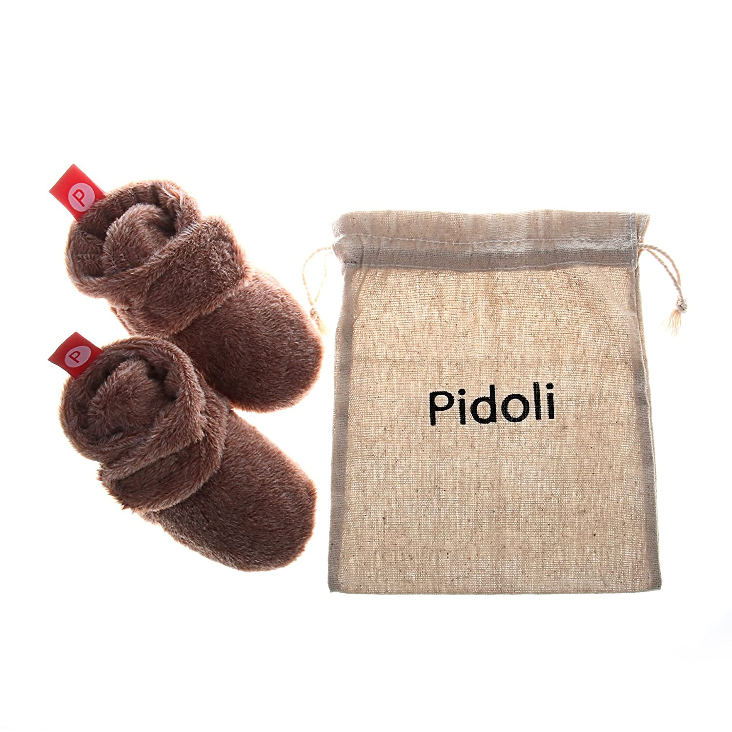 Pidoli Unisex-Baby Newborn Soft Fleece Bootie Infant//toddler