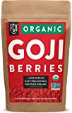 Organic Goji Berries | Large & Chewy | Every Batch Lab-Tested | 16oz Resealable Kraft Bag | 100% Raw From Ningxia | by…