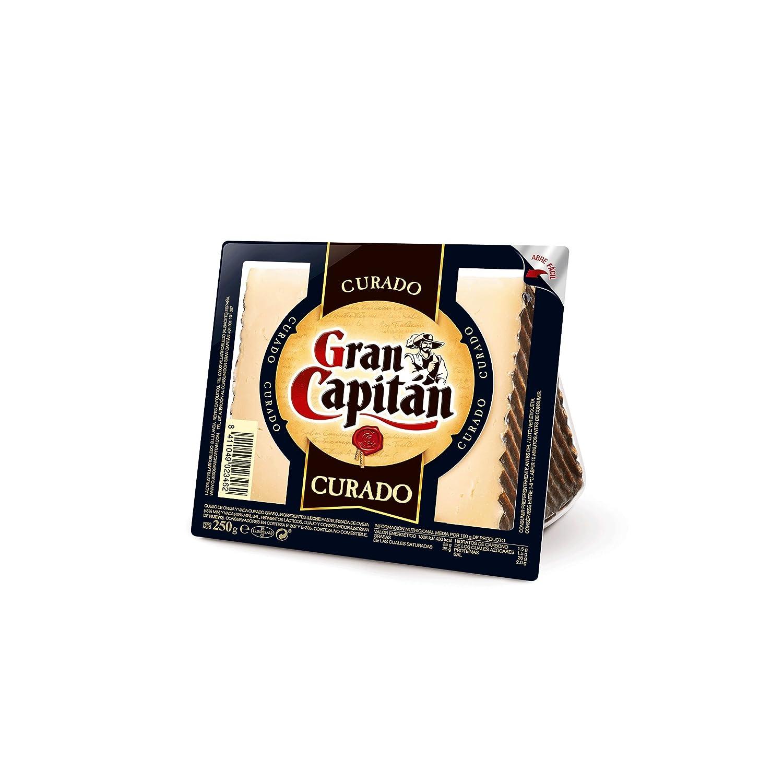 Gran Capitán Cuña Queso Curado Mezcla - 250 gr: Amazon.es: Alimentación y bebidas