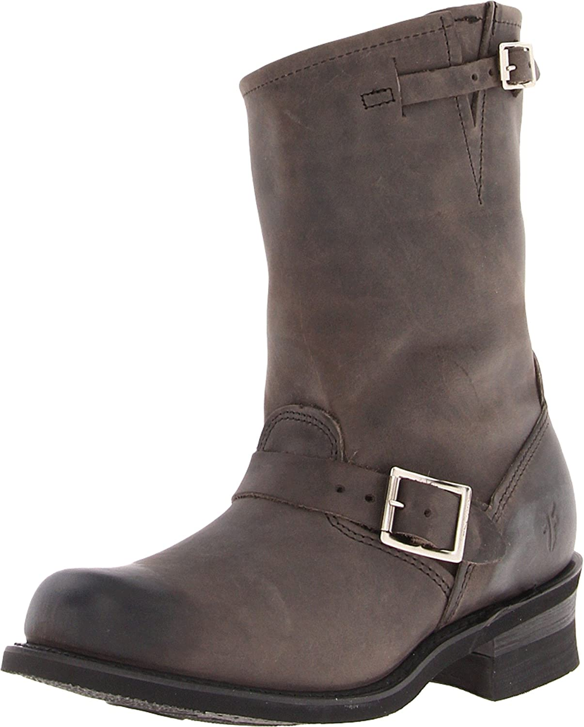 FRYE Women's Engineer 12R Boot B007D18HMM 6.5 B(M) US|Charcoal Old Town-72483