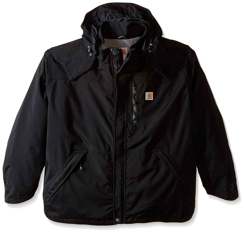 Amazon.com: Carhartt Men's Shoreline Jacket Waterproof Breathable ...