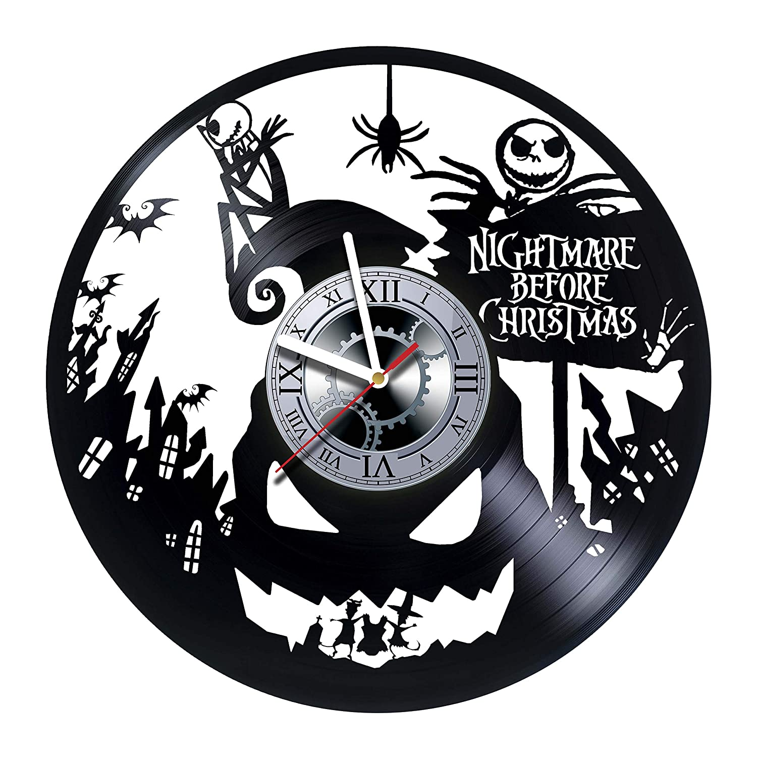 Amazon.com: Nightmare Before Christmas - Handmade Vinyl Records Wall ...