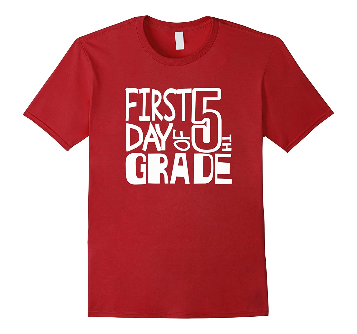 Happy First Day Of FIFTH 5th Grade Tshirt Teacher Students-BN