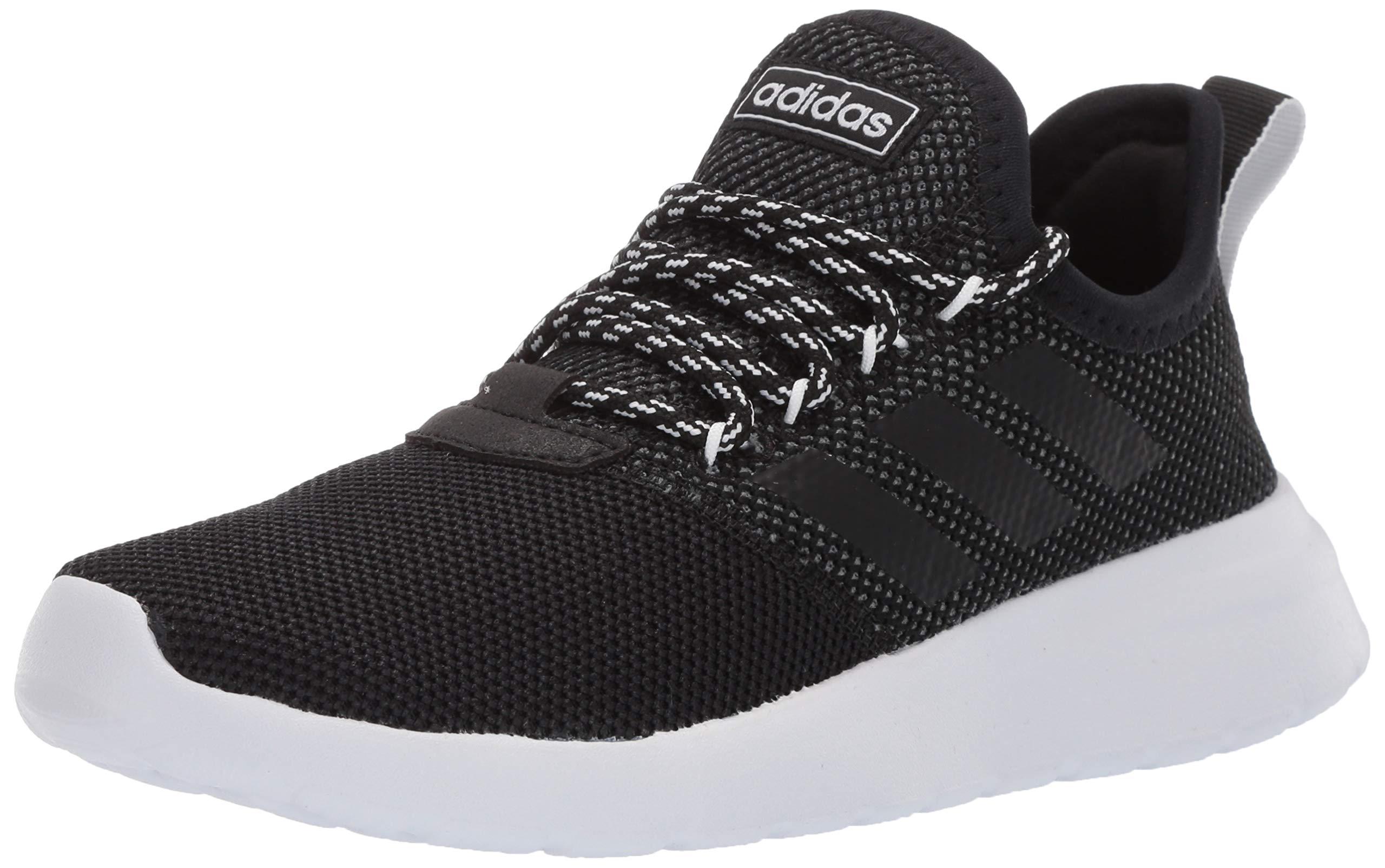 adidas Women's Lite Racer Reborn, Black/Grey, 5 M US