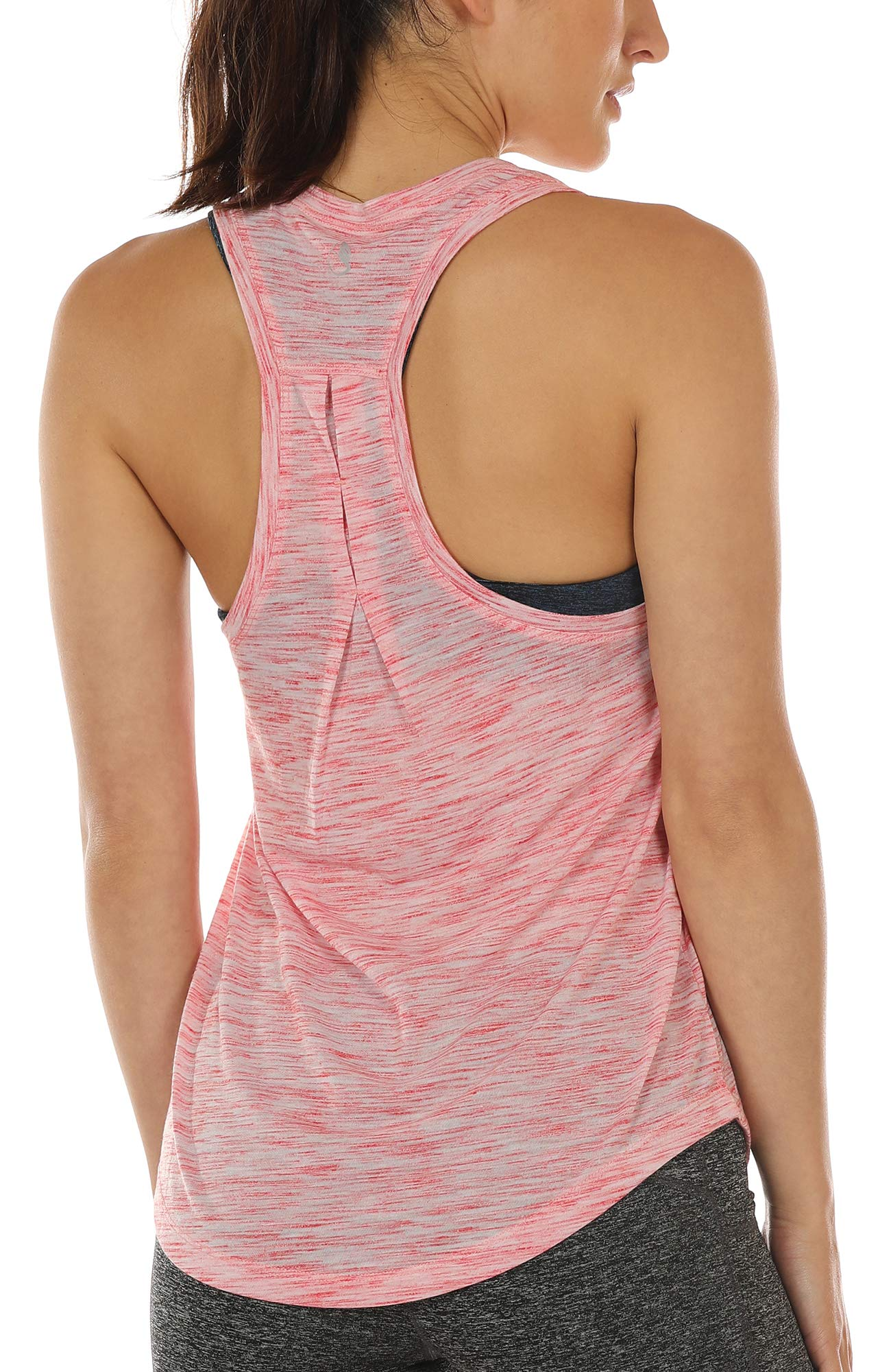 3b3b2a1f19 icyzone Workout Tank Tops for Women - Athletic Yoga Tops