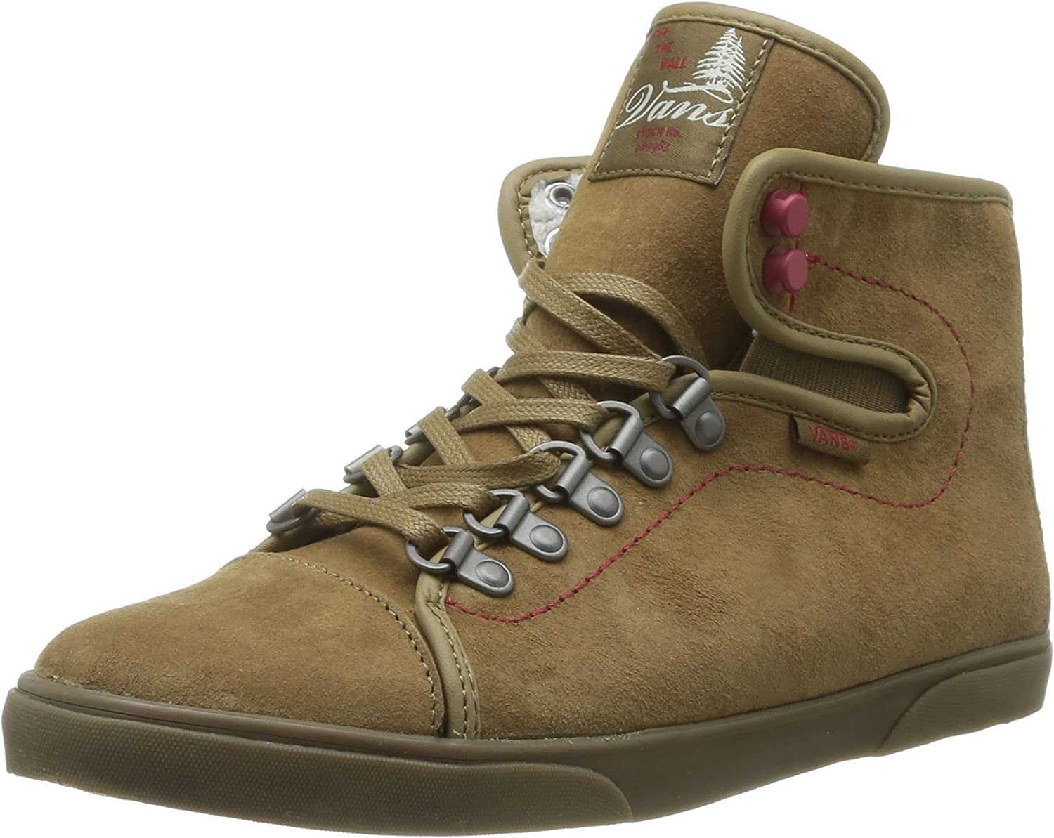 Vans W Hadley Hiker, Baskets Mode Femme Marron (Hiker