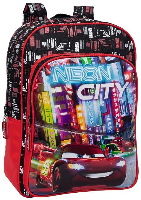 Disney Mochila Escolar Para Niñas Niños Bolsa Sac (Mochila Cars)