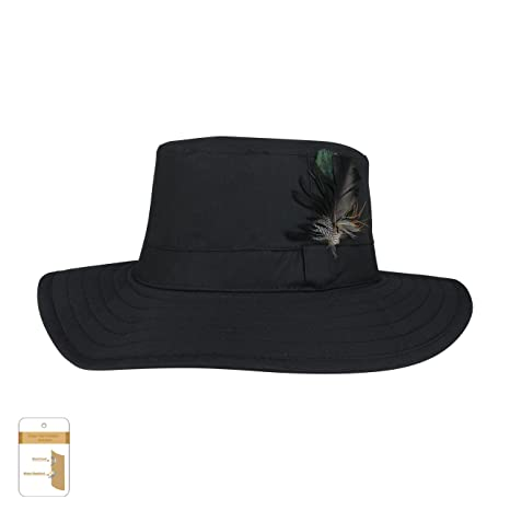 309bdbc04e989e Amazon.com: Juniper Men's Waxed Cotton Canvas Western Hat-J9705-Black-XL:  Sports & Outdoors