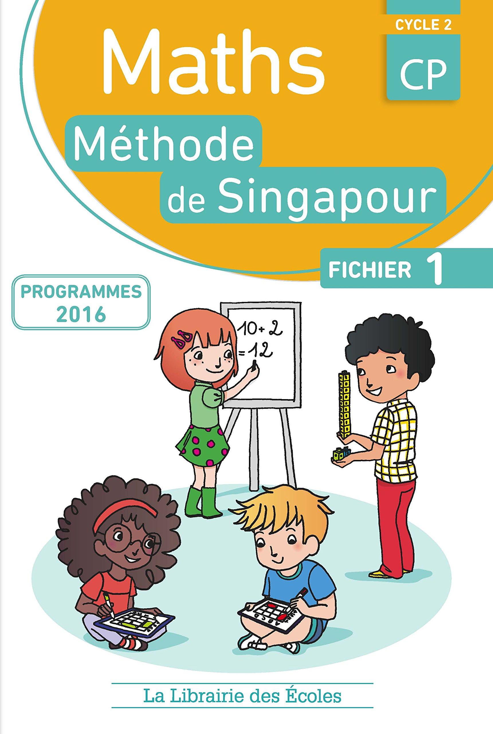 Mathématiques CP-Méthode de Singapour-Fichier de...