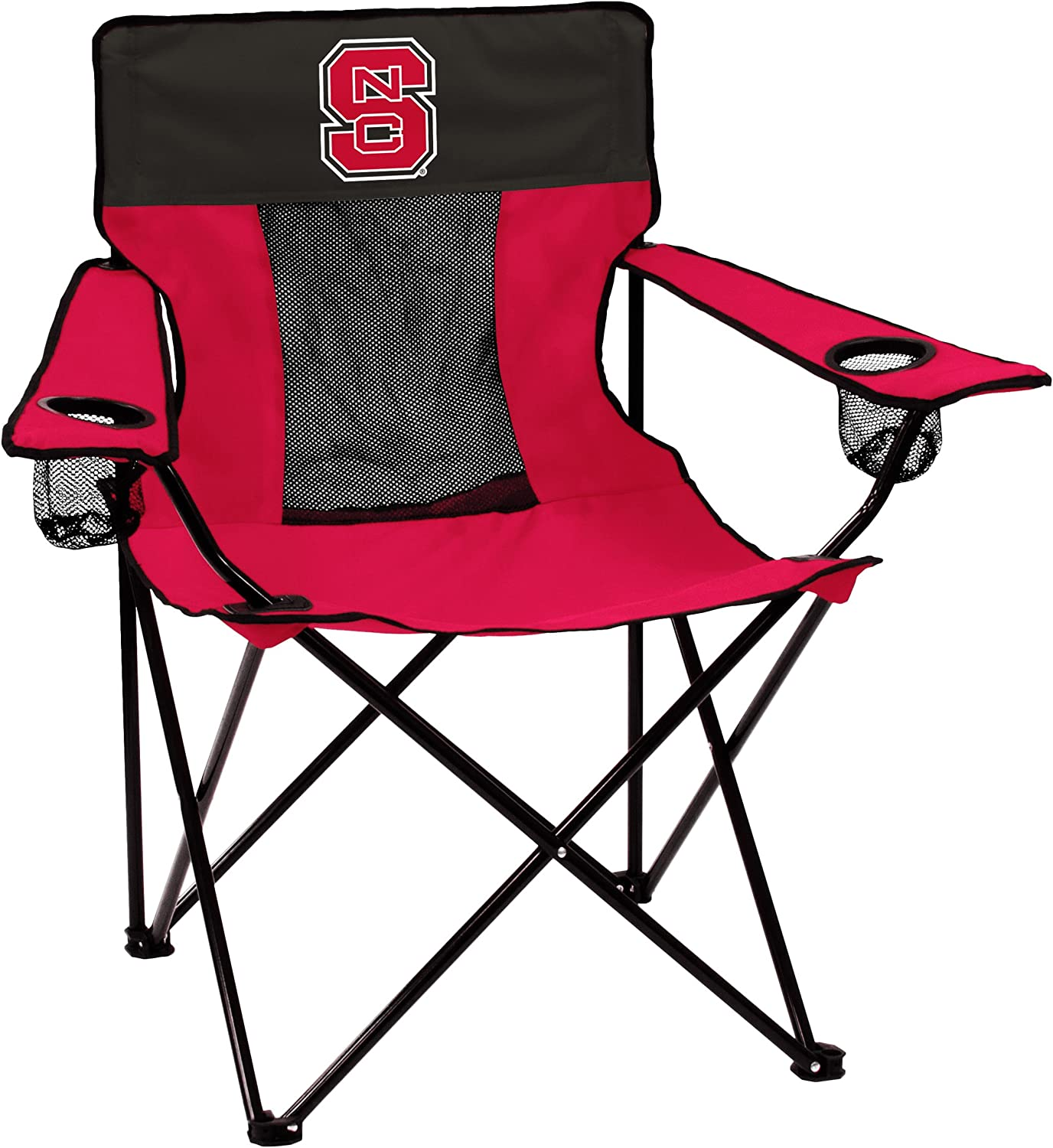 NCAA Logo Brands North Carolina State Wolfpack Elite Chair, Team Color