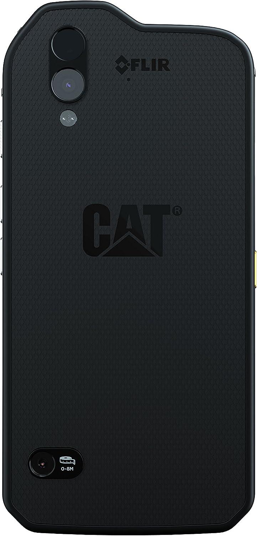 Cat S61 4G 64GB Dual-SIM Black EU: Amazon.es: Electrónica