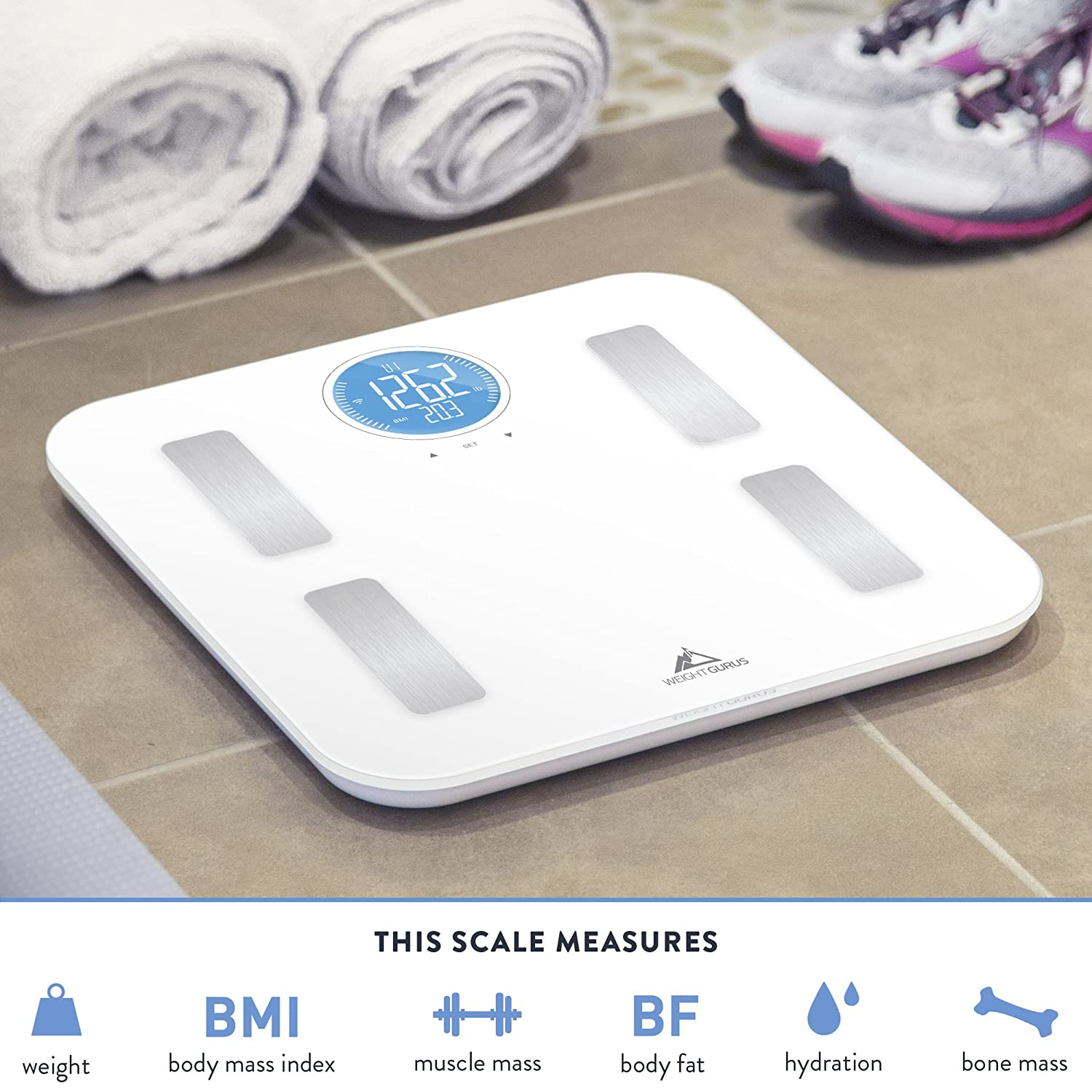 81sGheeTHVL._SL1500_ amazon com wifi smart connected body fat scale by weight gurus  at readyjetset.co
