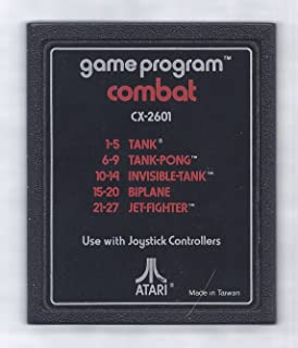 Combat Atari 2600 Video Game Cartridge