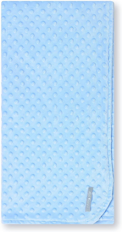 Petite stars 64405103 - Manta, diseño stars, 80 x 110 cm, color azul