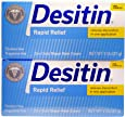 Desitin Rapid Relief Twin Pack, 57g, (Pack of 2)
