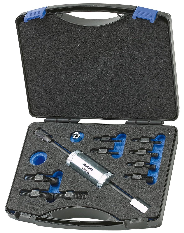 GEDORE Gewindeadapter-Satz mit Gleithammer 700 g, 11-teilig, 1 Stü ck, 1.81/K-12 Gedore Werkzeugfabrik GmbH & Co. KG