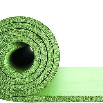 J.M 20mm extra gruesa estera de yoga NBR con correa de ...