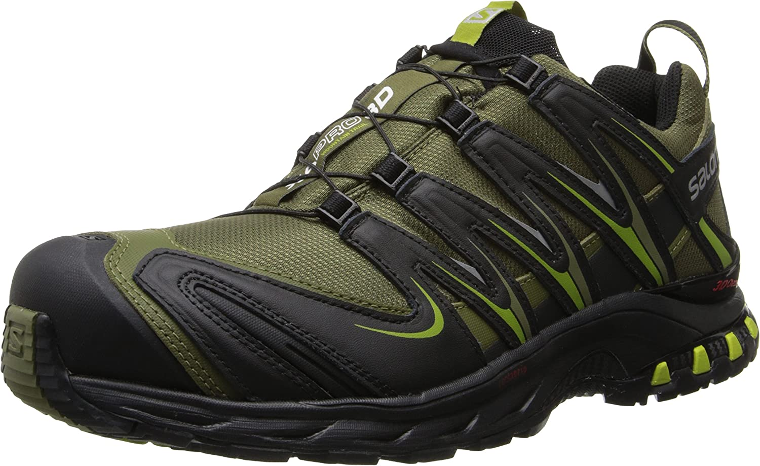Salomon Men s XA Pro 3D CS Waterproof Trail Running Shoe