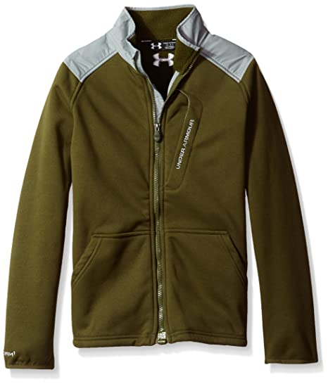 2228255da Amazon.com: Under Armour Boys' Storm ColdGear Extreme Jacket: Clothing