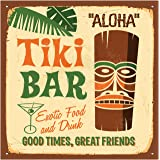 Thirstystone 4-Piece Tiki Bar Coaster Set