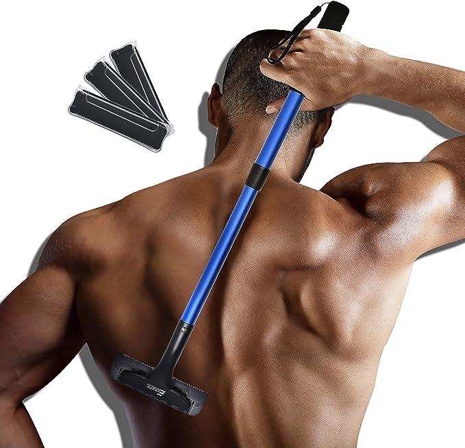 EASACE Afeitadora Espalda Afeitadora Corporal para Hombres ...