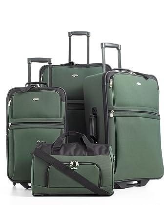 Amazon.com: Pierre Cardin Savoy Equipaje (4 piezas), Verde ...