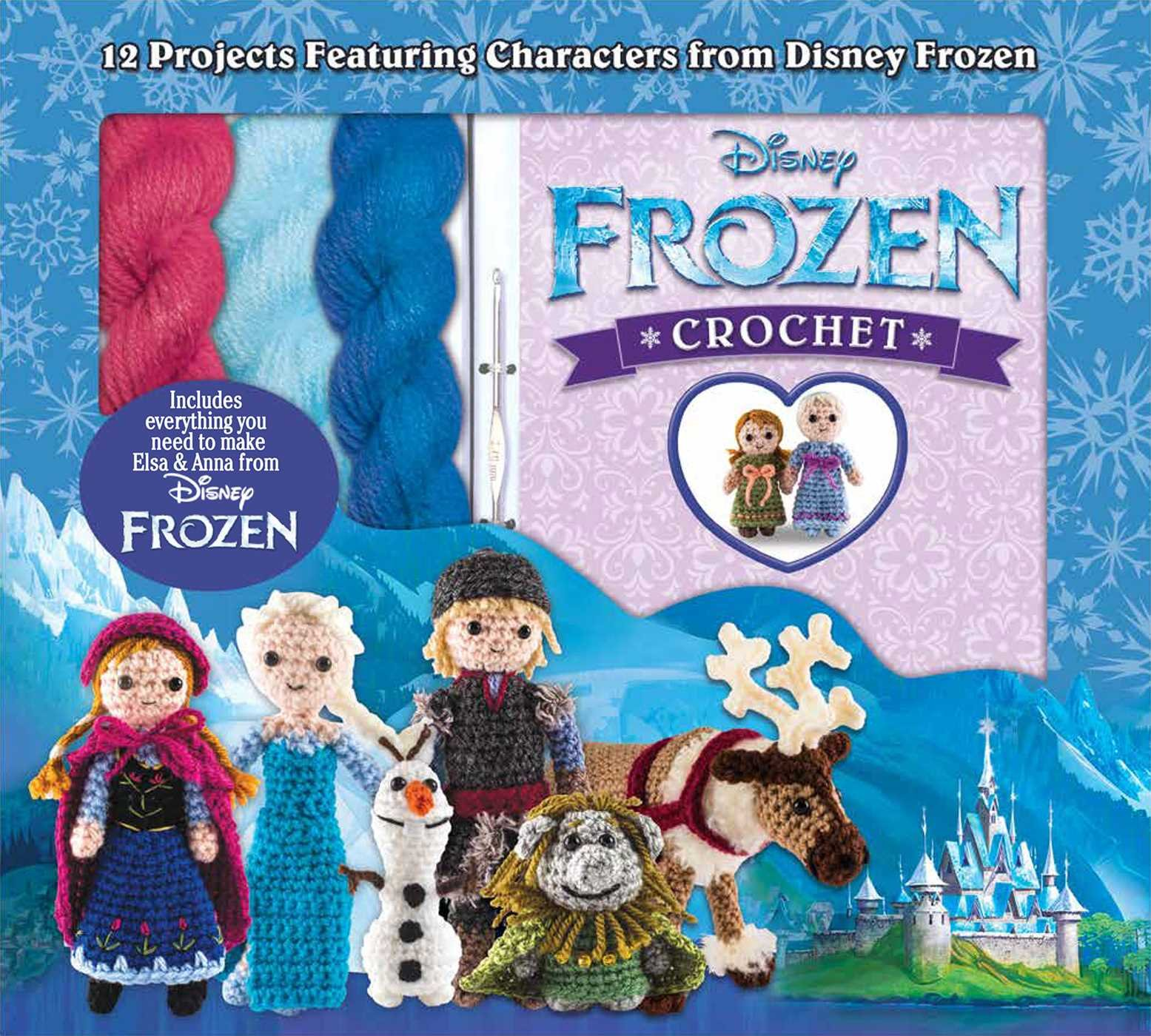 Disney Frozen Crochet Box Set product image