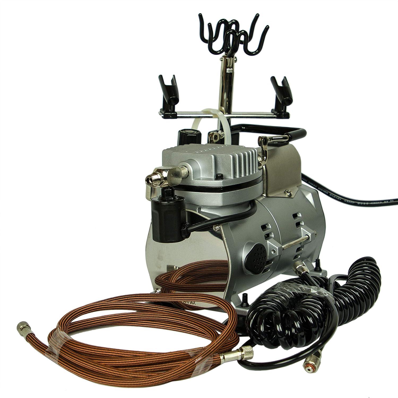 Unbekannt Compressore aerografo Modello Saturn 25 con Interruttore Automatico