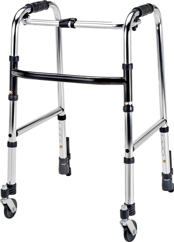 【非課税】 マキテック 歩行器 ウォーカーミニ 前輪自在キャスター付 (HKM-120) B01DOV6NCK