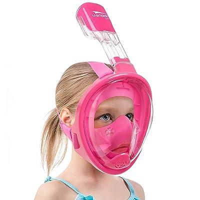 Anti Fog Full Face Snorkel Diving Mask Swimming Dive Scuba Goggles Adult Kids