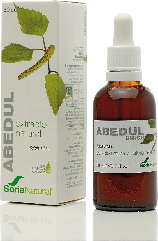 Soria Natural Extracto Abedul Glicolico - 2 Paquetes de 50 ml - Total: 100 ml: Amazon.es: Salud y cuidado personal