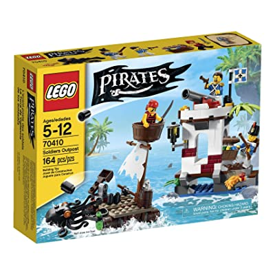 LEGO Pirates Soldiers Outpost: Toys & Games