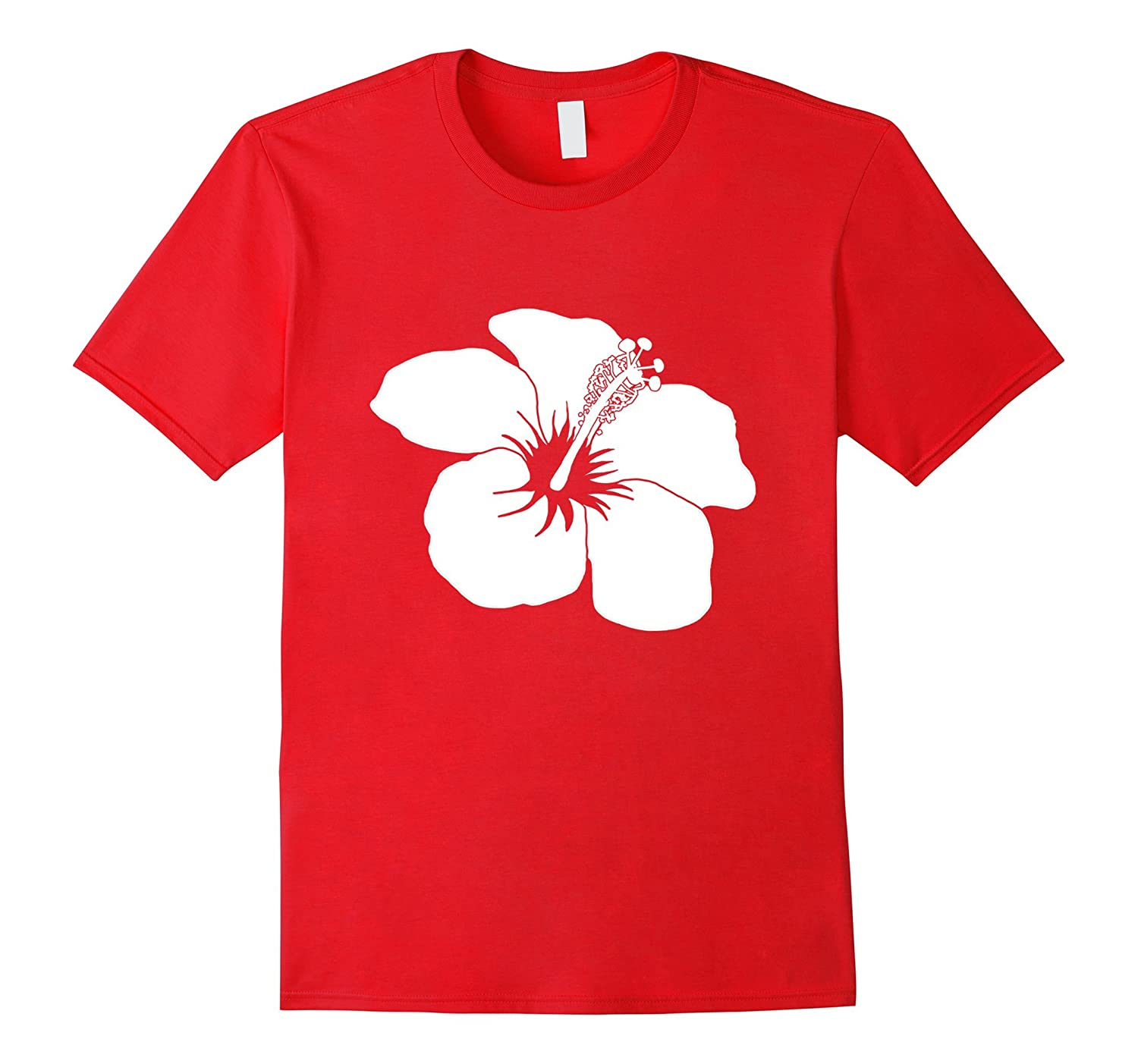 Classic Hibiscus Hawaiian Flower Hawaii T-Shirt-T-Shirt