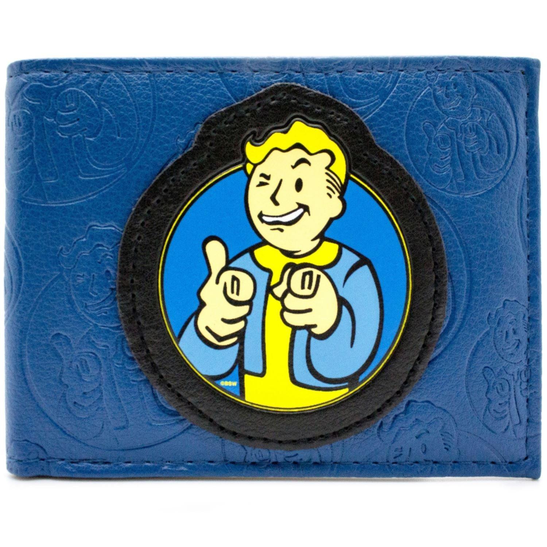 Bethesda Fallout 4 Vault Boy Blau Portemonnaie Geldbörse 28019